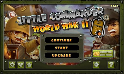 Little Commander - WWII TD Screenshot 1