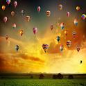 Parachutes Live Wallpaper icon