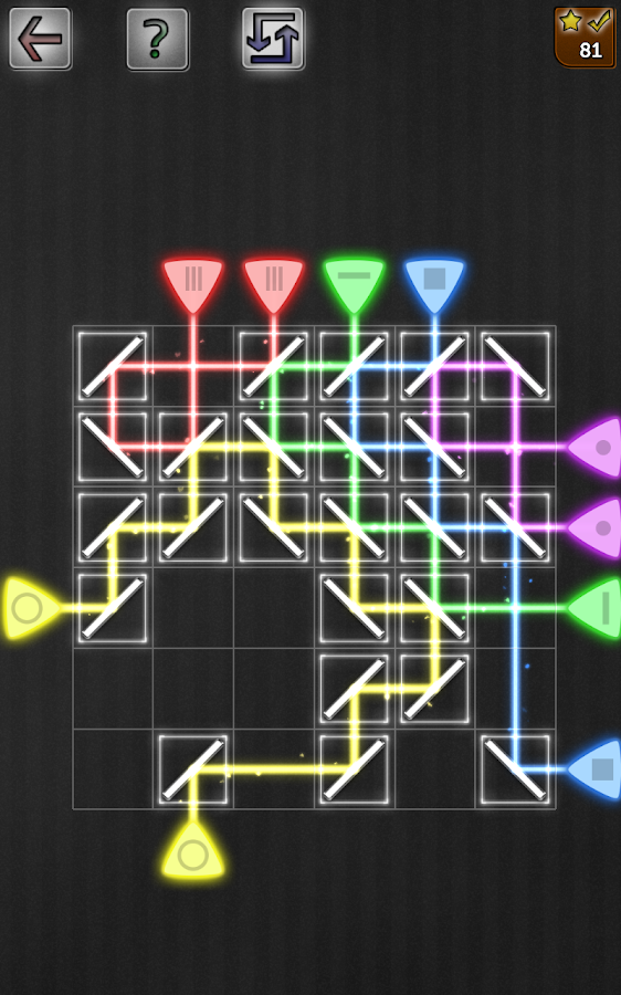 Mirrors & Reflections Puzzles- screenshot