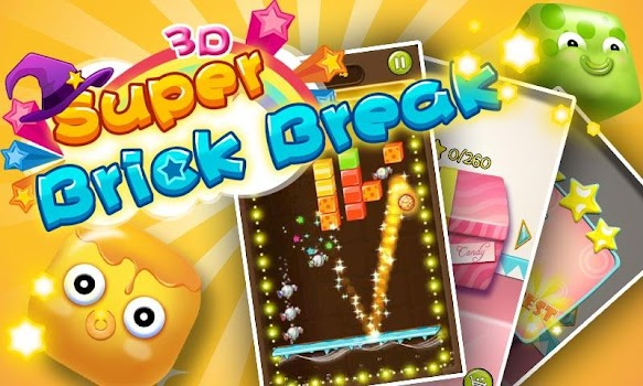Super Brick Break 3D