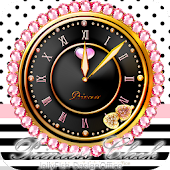 キラ姫☆小悪魔系アラームクロックウィジェット/目覚まし時計1