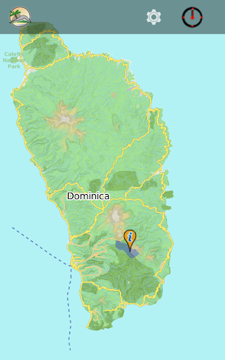 DOMINICA travel map