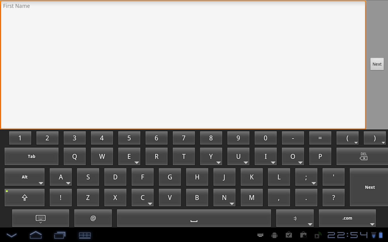 HintKeys Keyboard- screenshot