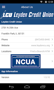 Leyden Credit Union - screenshot thumbnail
