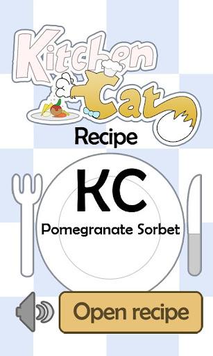 KC Pomegranate Sorbet