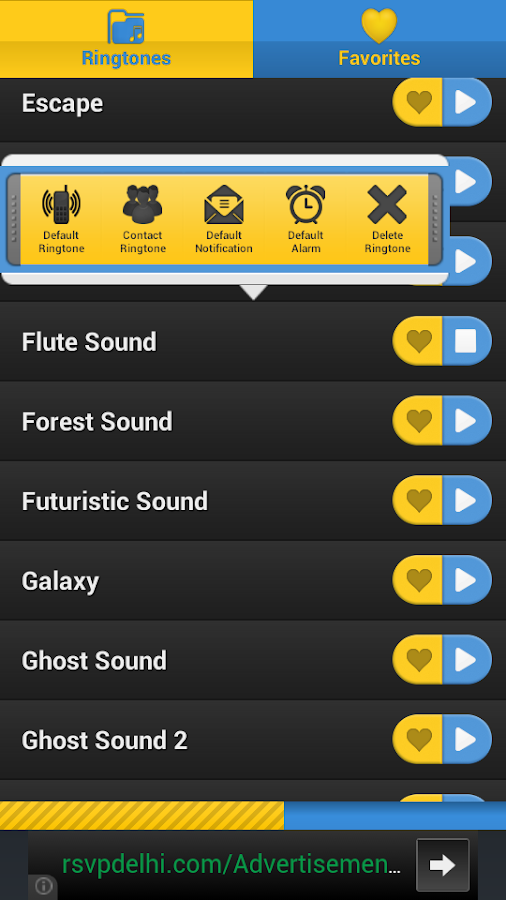 3D Sounds & 3D RingTones Free - screenshot