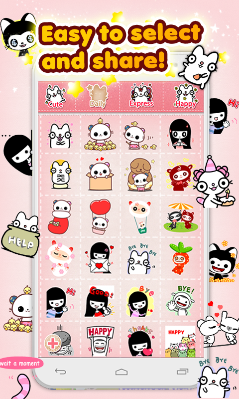 My Chat Sticker 2 K - screenshot