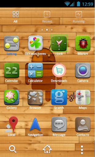 【免費個人化App】Nature Theme Go Launcher-APP點子