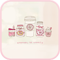 Sweet pink  go launcher theme icon