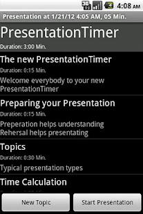 PresentationTimerPro- screenshot thumbnail
