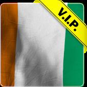 Cote d'lvoire flag lwp