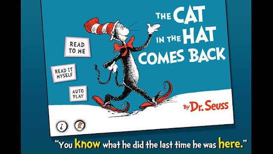免費書籍App|The Cat in the Hat Comes Back|阿達玩APP