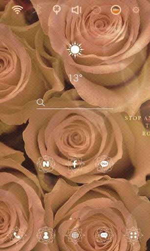 장미빛 인생 런처플래닛 테마