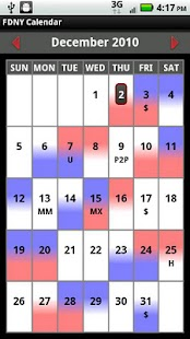 FDNY Scheduler - screenshot thumbnail