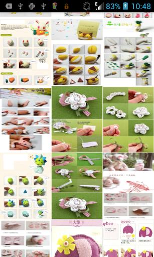 人形の製造工程