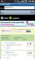 Screenshot of Dream Deals and Coupons