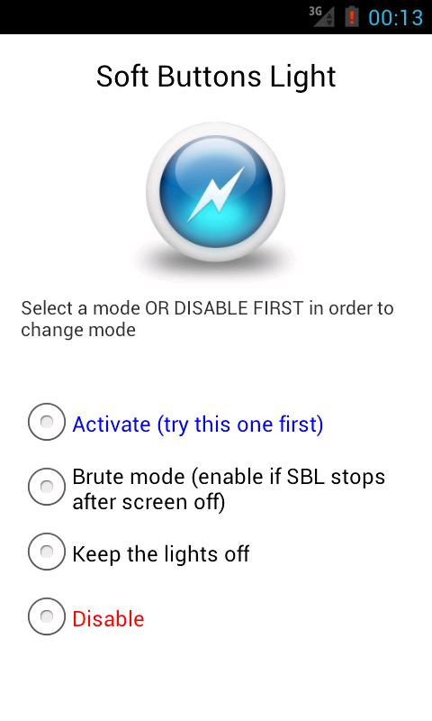 Soft Buttons Light - screenshot