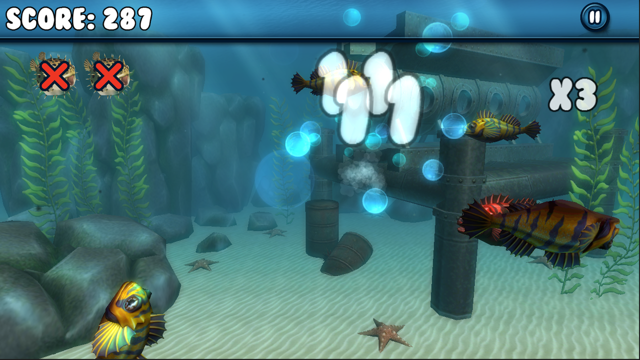 Flipping Fish!- screenshot