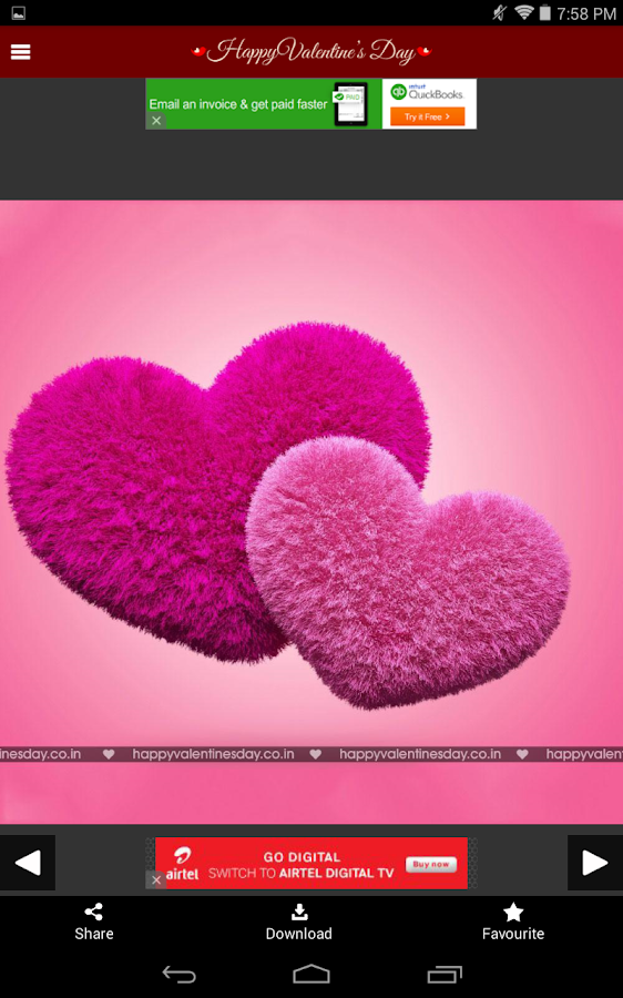 Valentines Day Greetings - Romantic Video Status - Android Apps on ...
