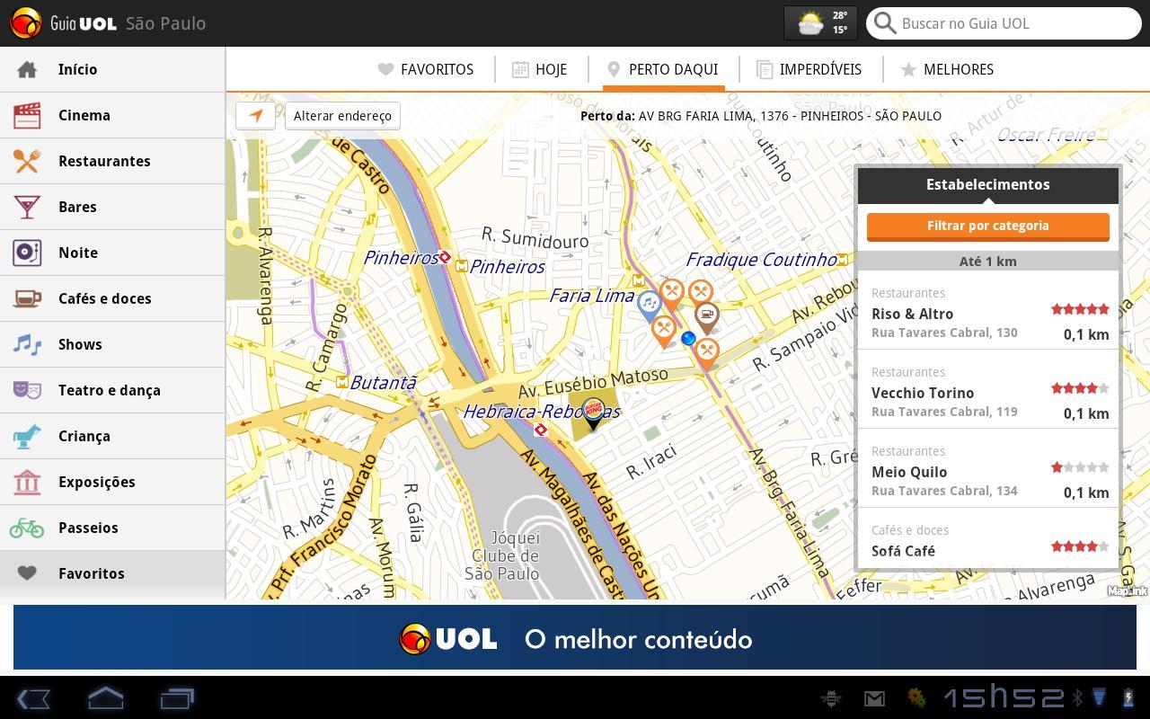Guia UOL - screenshot