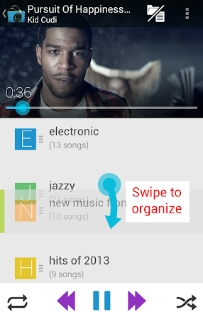 Music Folder Player (original) 5.2.1 screenshot 351913