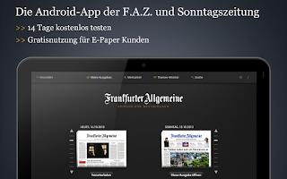 Screenshot of F.A.Z. / F.A.S.