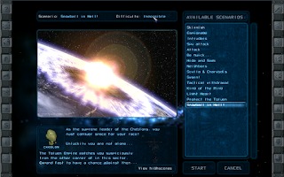 Screenshot of Imperium Galactica 2