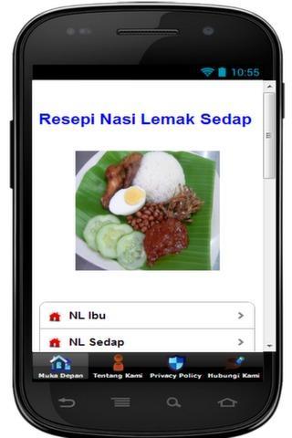 Resepi Nasi Lemak Sedap Betul - screenshot