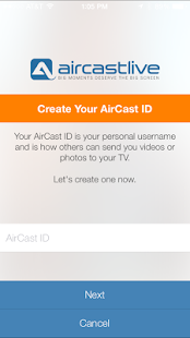 AirCastLive- screenshot thumbnail