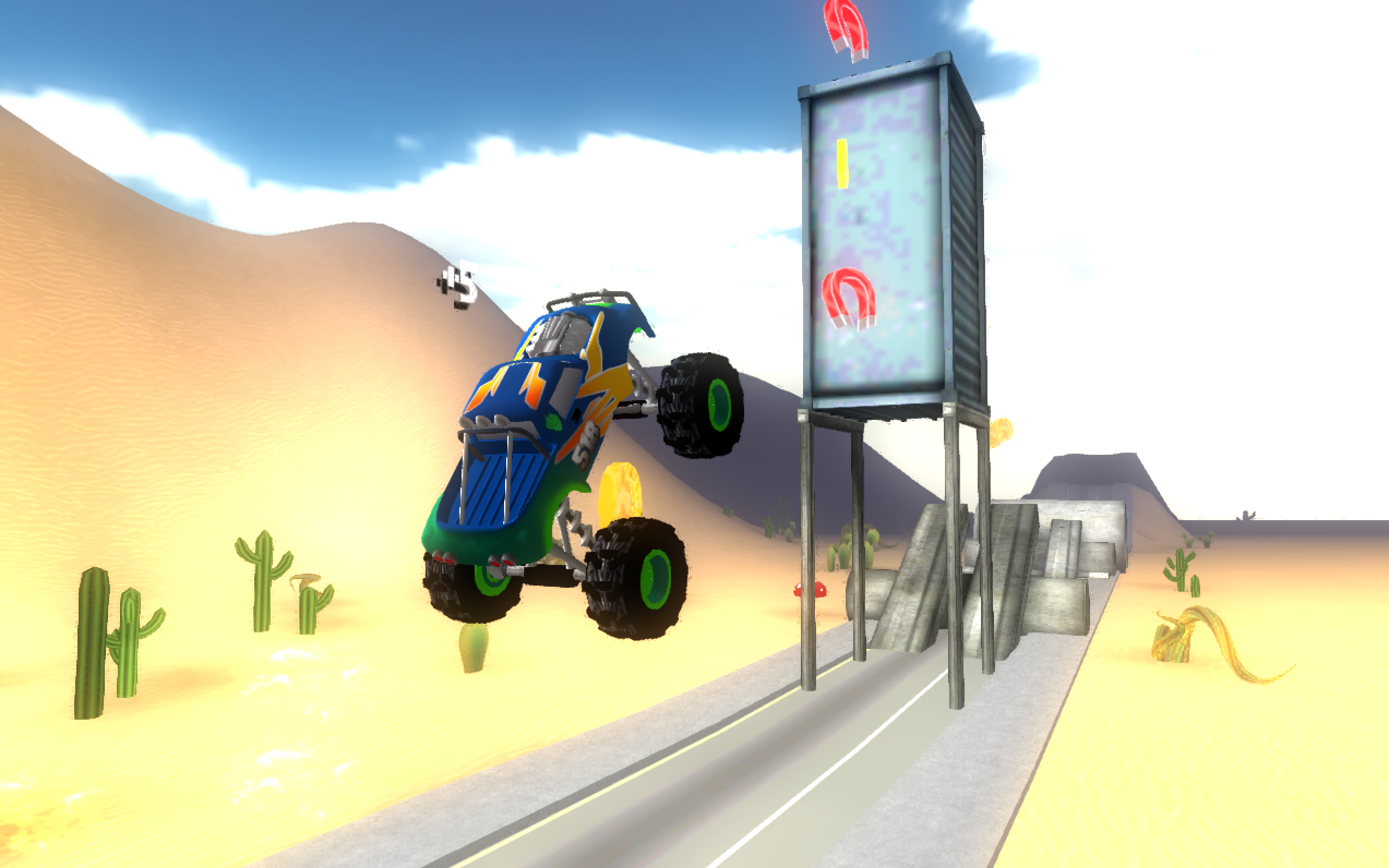 Extreme Racing: Big Truck 3D- screenshot