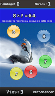 FRENCH Maths Algebra Game- screenshot thumbnail