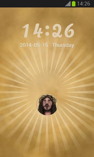 GO鎖屏耶穌