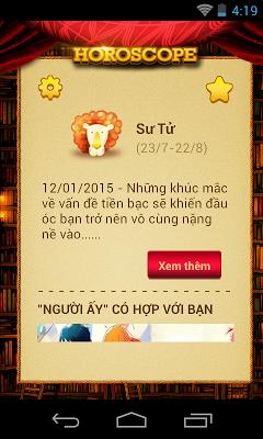 12 chom sao cung hoang dao - screenshot