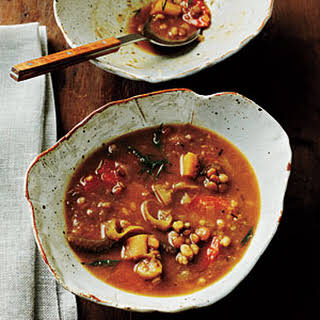 Lentil-Barley Soup.