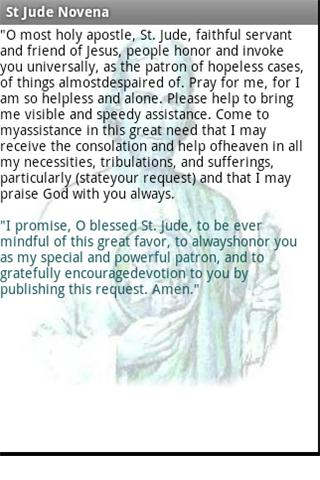Novena -Christian holy prayers - screenshot