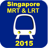 Singapore MRT and LRT Map 2015