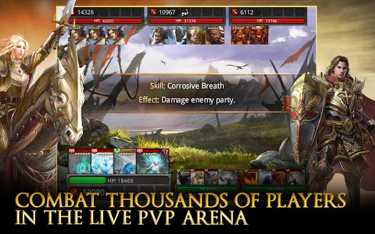android Heroes of Camelot Screenshot 6