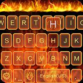 Fire Theme for Emoji Keyboard