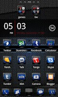 Screenshot of Evolve GO Launcher EX Theme