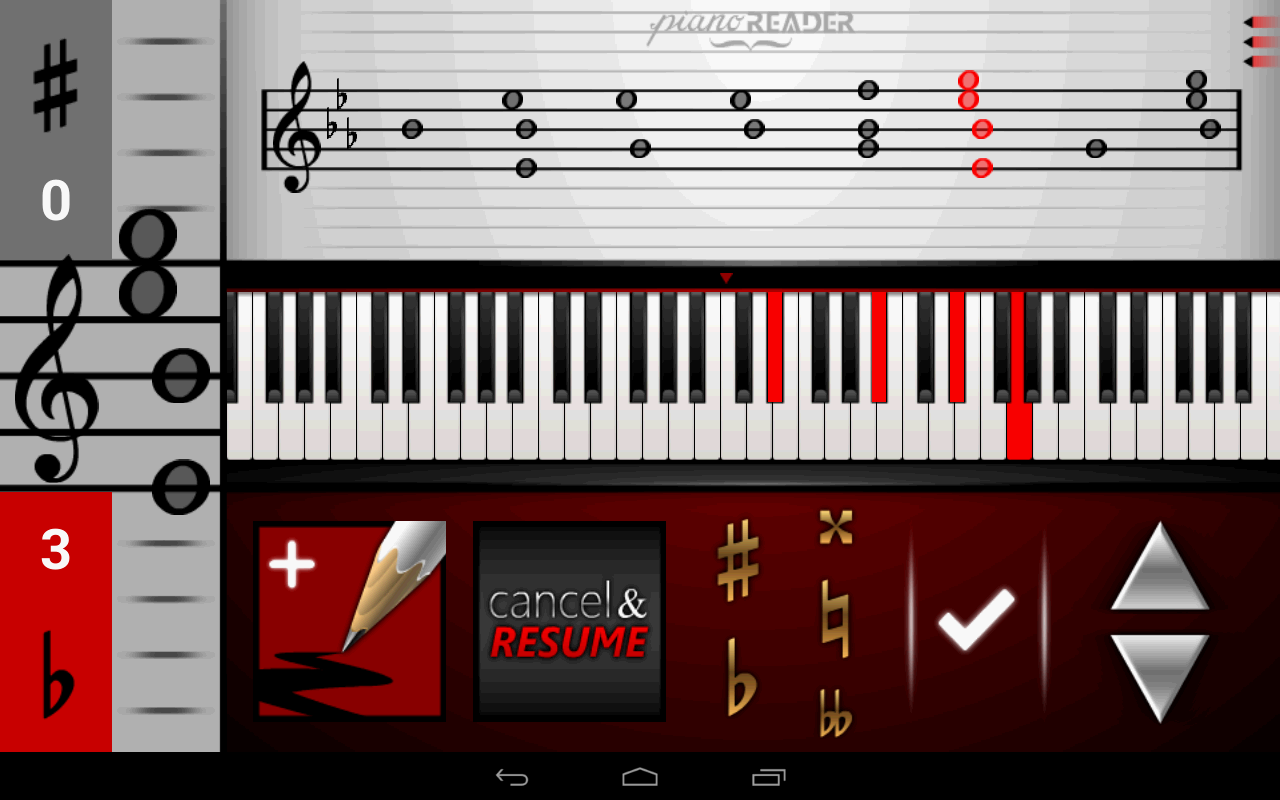 pianoREADER- screenshot