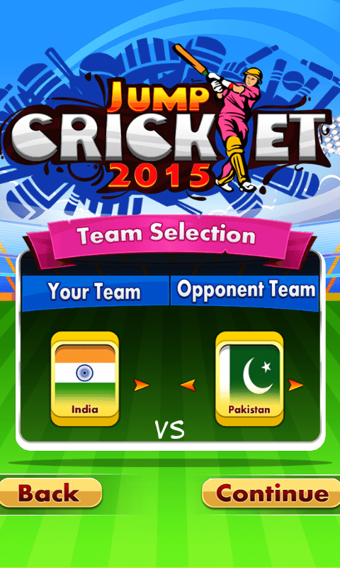 Jump Cricket- screenshot