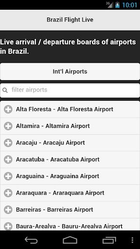 Brazil Flight Live
