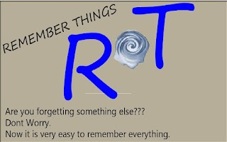 Screenshot of Remember Things