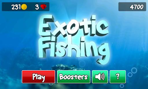 エキゾチックな釣り