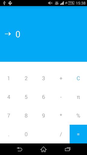 Material Design Calculator