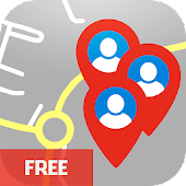 MapBook Social Friends Finder