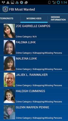 FBI Most Wanted - screenshot