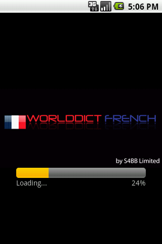 WorldDict French Full - screenshot