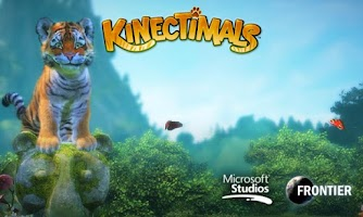 Screenshot of Kinectimals