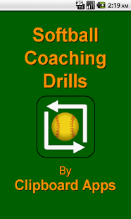Softball Coaching Drills- screenshot thumbnail